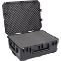 SKB 3i-2922-10BC Waterproof Utility Case with Wheels and Cubed Foam - 29 x 22 x 10 Inch