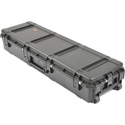 SKB 3i-5616-9B-L 56 x 16 x 9 Inch Waterproof Utility Case with Wheels and Layered Foam