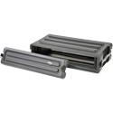 SKB 1SKB-R2S Roto-Molded 2U Shallow Rack