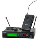 SHURE Wireless Bodypack System with 184 Lav - G4 470-494 MHz
