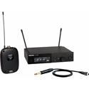 Shure SLXD14-H55 Combo Wireless Instrument System with SLXD1 Bodypack & SLXD4 Receiver - 514-558Mhz