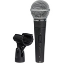 Shure SM58S Handheld Dynamic Cardioid Microphone with On/Off Switch