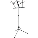 OnStage Foldable Music Stand - Black
