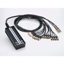 Proco SMA1604FBX-150 - 20 Ch Snake -16 Mic - 4 Ret Fan/Box - 150FT