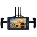 Small HD MON-703BOLT-VM 7-Inch Full HD Monitor/Receiver with Directors Handles and V-Mount Battery Plate