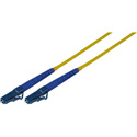 Photo of 3-Meter 9u/125u Fiber Optic Patch Cable Single Mode Simplex LC to LC - Yellow