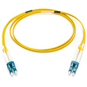 Camplex SMXD9-LC-LC-001 9u/125u Armored Fiber Optic Patch Cable Singlemode Duplex LC to LC - Yellow - 1-Meter