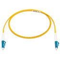 Camplex SMXS9-LC-LC-001 9u/125u Armored Fiber Optic Patch Cable Singlemode Simplex LC to LC - Yellow - 1-Meter