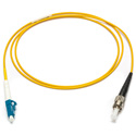Camplex SMXS9-ST-LC-001 9u/125u Armored Fiber Optic Patch Cable Singlemode Simplex ST to LC - Yellow - 1-Meter