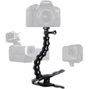 Photo of  Stage Ninja CAM-12-CB Camera/Recording Device Stand with Gooseneck on Steel Clamp