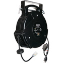 Stage Ninja STX-45-1 Retractable 12/3 Power Reel - Black - 45 Foot