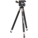 Sunpak 4200XL Tripod with 2-Way Panhead - 8-section Legs - Black - 42in with Smartphone Adapter