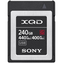 Sony QDG240F/J G-Series 440MB/s Memory Card - 240 GB - XQD