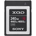 Sony QDG240F/J G-Series 440MB/s Memory Card - 240 GB - XQD