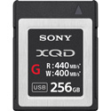 Sony QDG256E/J G-Series QD-G256E - Flash Memory Card - 256 GB - XQD