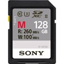 Sony SF-M128/T UHS-II SD Memory Card - 128GB