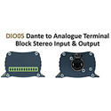 Sonifex AVN-DI005 Dante to AES3 XLR Stereo Input & Output