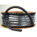 Spiral Wrap 1/2inx100ft Spool Black