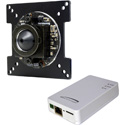 Speco O2iBD3 2MP Board IP Camera - 2.9mm Fixed and 3.6 Pinhole Lens - Black Housing