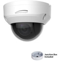 Speco O2P4X 2MP 4x Indoor/Outdoor IP PTZ Camera - Included Junction Box - White Housing