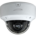 Speco O8D6M/4K - 4K 8MP Dome IP Camera - IR - 3.3-12mm Motorized Lens - Included Junction Box - White Housing