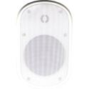 Speco SPCE6OW 6.5 Inch Contractor Elite Series Weather-Resistant Indoor/Outdoor Wall-Mount Speaker - White - 8 Ohms