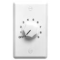 Speco WAT10W 10W 70/25 Volt Wall Plate Volume Control - White