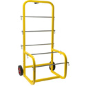 SpoolMaster CC Wire Spool Cart Caddy - Bstock (Spool Damage/Repaired)