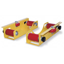 SpoolMaster RP-MPX Cable Reel Roller & Dispenser Pair with 750Lb Capacity