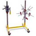 SpoolMaster SPMA-WMC16 Cable/Wire Measuring and 16 Inch Coiling System with Poly Rollers