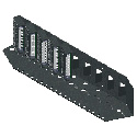 RDL SR-10 Stick-On Series 19in Mounting Rack - 10 Modules