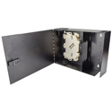 Cleerline SSF-SWM-SOLID-NL-E2 Small - Empty Wall Mount with Solid Metal Door - No Lock - Accepts 2 Insert Plates