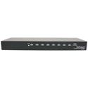 StarTech ST128HDMI2 8 Port High Speed HDMI Video Splitter w/ Audio