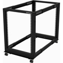 StarTech 4POSTRACK15U Open Frame Rack - 4 Post - Adjustable Depth - 15U