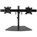 StarTech ARMBARDUO Dual-Monitor Stand-Horizontal - Adjustable - Black