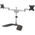 StarTech ARMDUALSS Dual Monitor Stand - For Monitors Up to 32 Inch