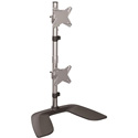 StarTech ARMDUOVS Vertical Dual Monitor Stand for up to 27 In Monitor