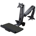 StarTech ARMSTSCP1 Sit/Stand Monitor Arm - Monitor Arm Desk Mount