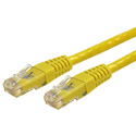 StarTech C6PATCH50YL Molded Cat6 UTP Patch Cable - Yellow - 50 Foot