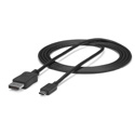 Startech CDP2DPMM6B USB-C to DisplayPort Cable - 4K 60Hz - Black - 6 Foot (1.8m)