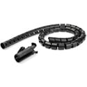 StarTech CMSCOILED Cable Management Sleeve - 1 Inch x 4.9 Feet