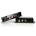 StarTech COMPUTPEXTA Composite Video With Unbalanced Stereo Audio Over Cat5 Cable Extender System