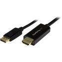 Startech DP2HDMM5MB DisplayPort to HDMI Converter Cable - 4K - 5m (16 ft)