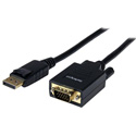 StarTech DP2VGAMM6 6 ft DisplayPort to VGA Cable - M/M