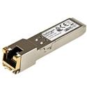 StarTech EXSFP1GETST Gb Copper SFP - Juniper EX-SFP-1GE-T Compatible