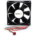 StarTech FANBOX2 80x25mm Dual Ball Bearing Computer Case Fan with TX3 Connector