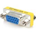 StarTech GC15HDF Slimline VGA HD15 Gender Changer - Female/Female