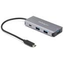 StarTech HB31C3A1CB 4-Port USB-C Hub 10Gbps - 3x USB-A and 1x USB-C