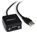 Startech ICUSB2321F 1 Port FTDI USB to Serial RS232 Adapter Cable with COM Retention