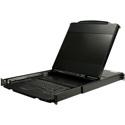 StarTech RKCOND17HD 17 Inch HD Rackmount KVM Console - Dual Rail